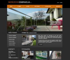 www.nerezovezabradlia.eu