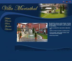www.villamariathal.sk